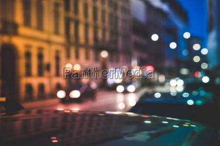 estrada movimentada a noitemilaoitalia